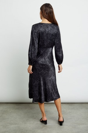 SHILOH - CHARCOAL SNAKESKIN by Rails - 2