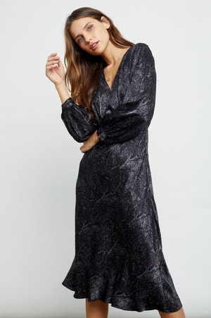 SHILOH - CHARCOAL SNAKESKIN by Rails - 6