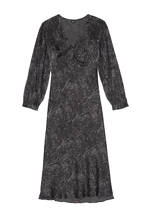 SHILOH - CHARCOAL SNAKESKIN by Rails - 1