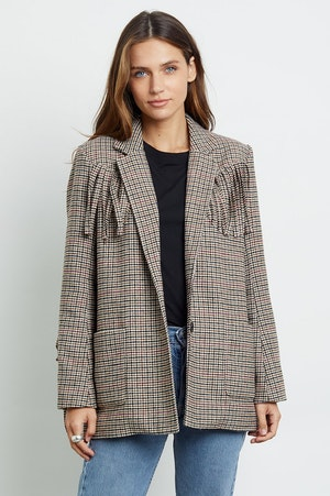 JAGGER - MUSTARD MINI HOUNDSTOOTH by Rails - 3
