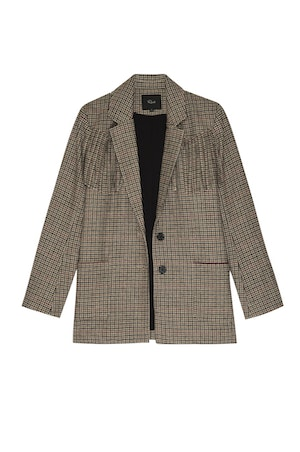 JAGGER - MUSTARD MINI HOUNDSTOOTH by Rails - 1