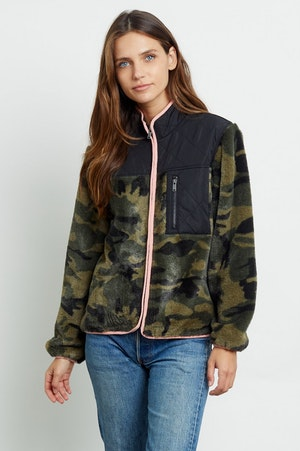 WESLEY - GREEN CAMO BLACK by Rails - 4
