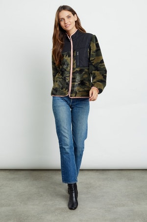 WESLEY - GREEN CAMO BLACK by Rails - 2