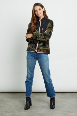 WESLEY - GREEN CAMO BLACK by Rails - 5