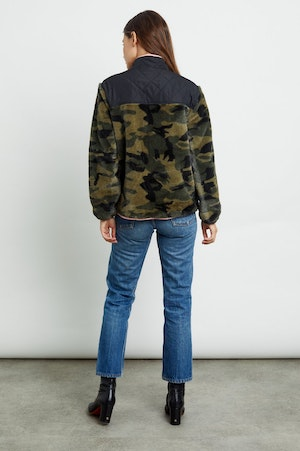 WESLEY - GREEN CAMO BLACK by Rails - 3
