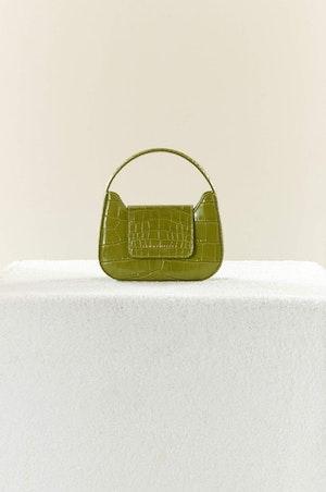 Mini Retro Bag in Chartreuse by Simon Miller - 2