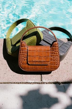 Mini Retro Bag in Cuoio by Simon Miller - 5