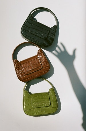 Mini Retro Bag in Cuoio by Simon Miller - 6