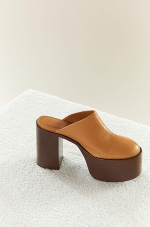 High Raid Clog in Toffee by Simon Miller - 3