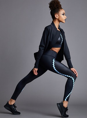Scallop Legging by Urban Savage - 5