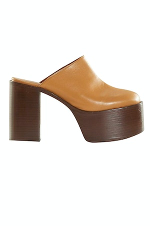 High Raid Clog in Toffee by Simon Miller - 1