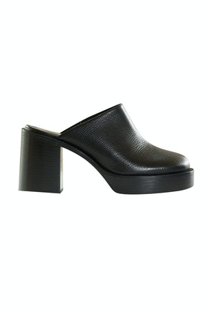 Low Raid Clog in Black by Simon Miller - 1