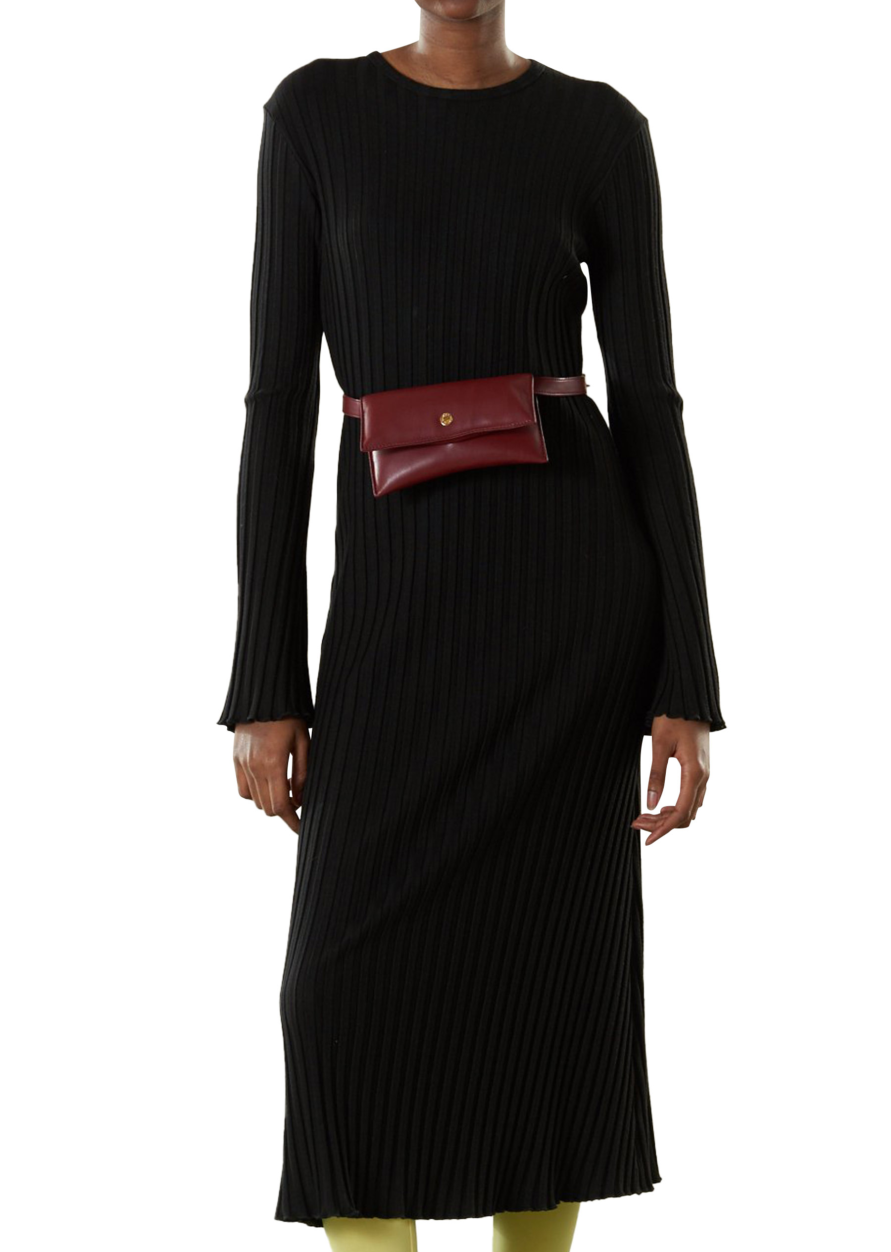 RIB Wells Dress in Black by Simon Miller - 1