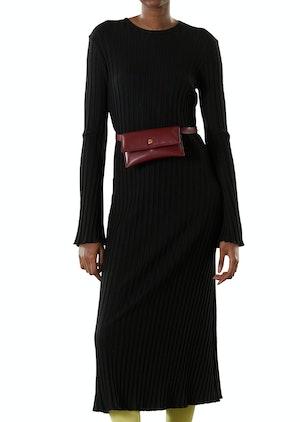 RIB Wells Dress in Black by Simon Miller - 1