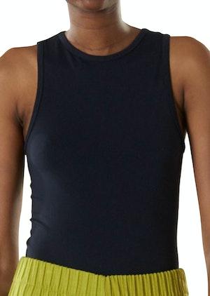 STRETCH Nash Bodysuit in Black by Simon Miller - 1