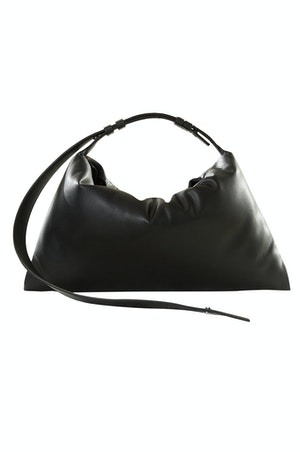 VEGAN LEATHER Puffin in Black by Simon Miller - 1