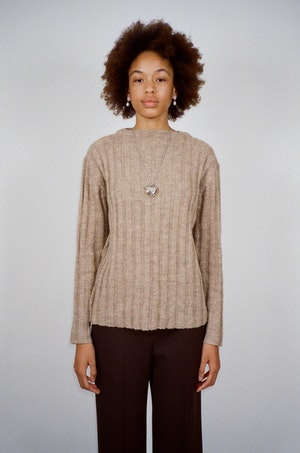 Ribby Sweater by Sandy Liang - 4