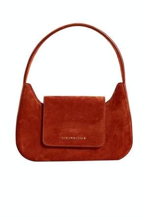 Retro Bag in Rust Suede by Simon Miller - 1