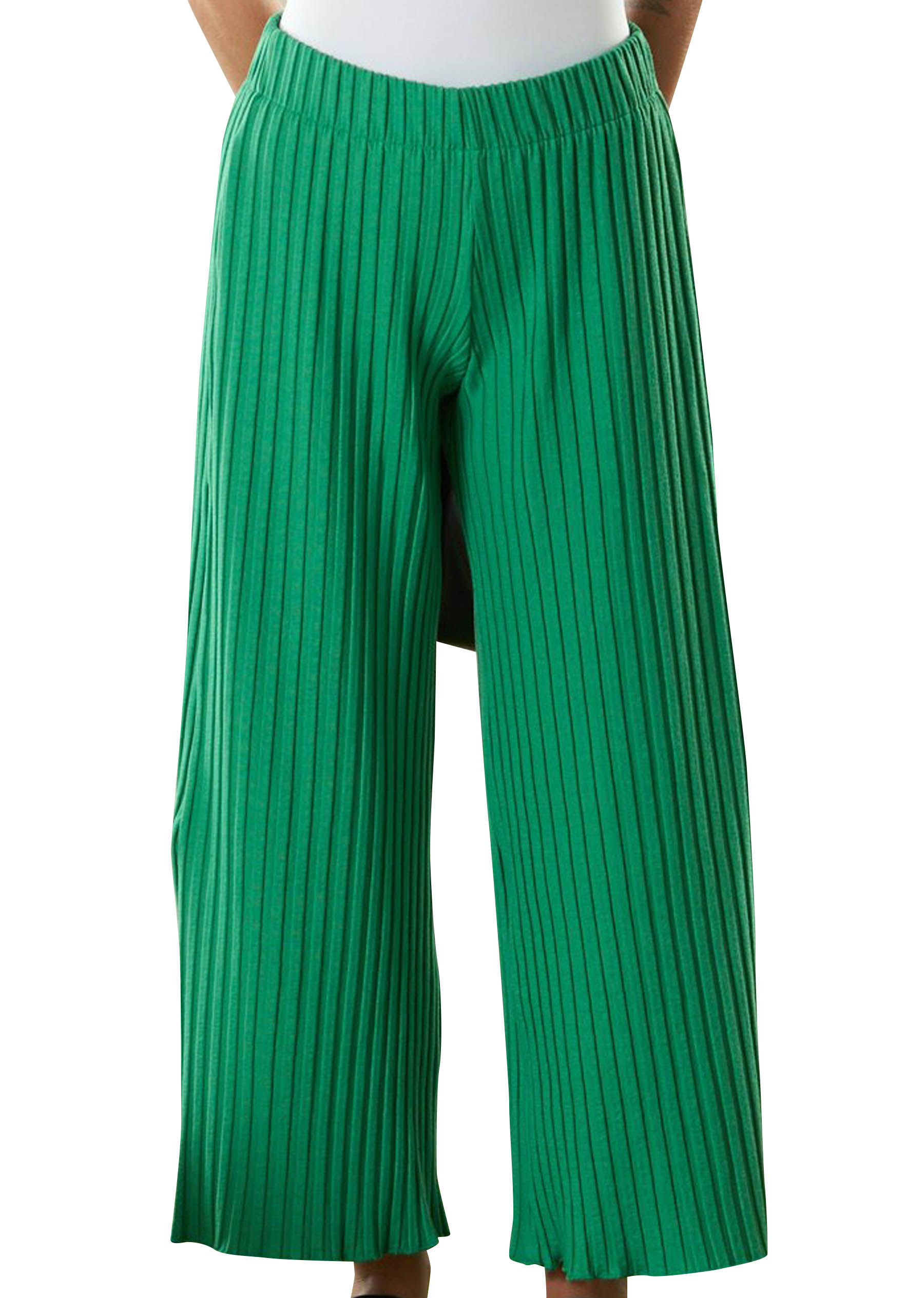 RIB Alder Pant in Jungle Green by Simon Miller - 1