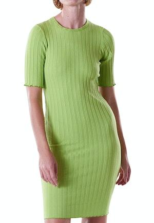 RIB Capo Dress in Algae by Simon Miller - 1