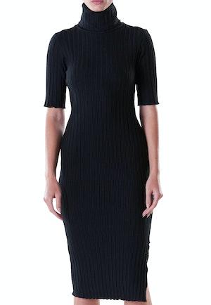 RIB Novo Dress in Black by Simon Miller - 1