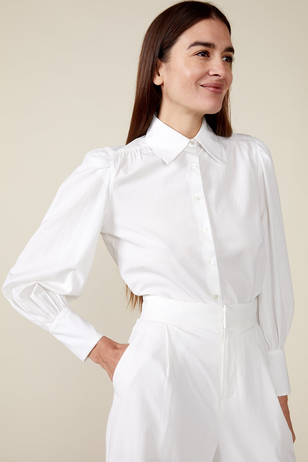 VITA BLOUSE, WHITE by St. Roche - 2