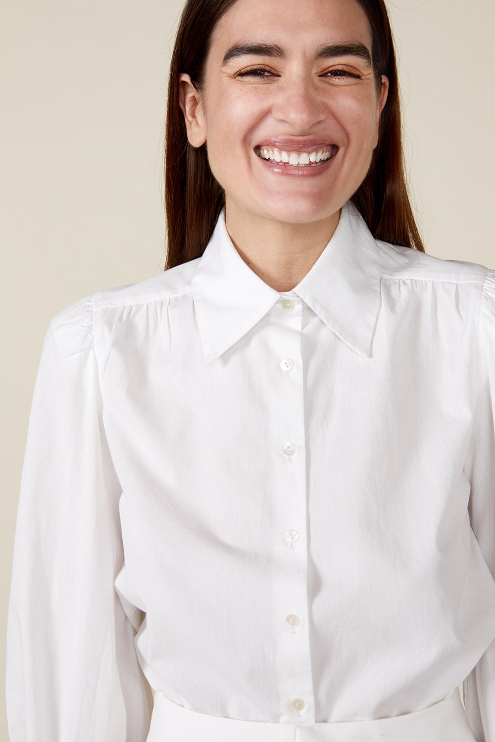 VITA BLOUSE, WHITE by St. Roche - 6