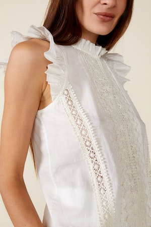 ADA TOP, IVORY by St. Roche - 5