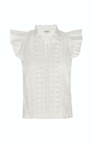 ADA TOP, IVORY by St. Roche - 1