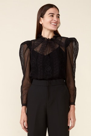 TOMI TOP - BLACK by St. Roche - 2