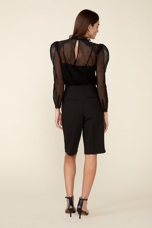 TOMI TOP - BLACK by St. Roche - 3