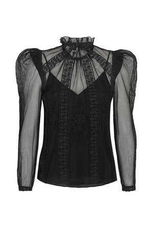 TOMI TOP - BLACK by St. Roche - 1
