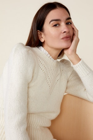 SISSY SWEATER, IVORY by St. Roche - 6