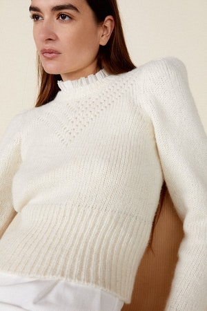 SISSY SWEATER, IVORY by St. Roche - 5