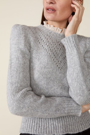 SISSY SWEATER, GREY by St. Roche - 6