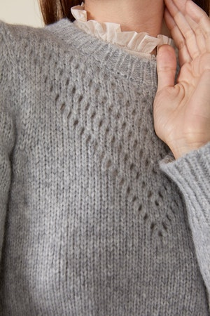 SISSY SWEATER, GREY by St. Roche - 5