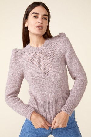 SISSY SWEATER, HEATHER ROSE by St. Roche - 1