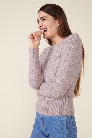 SISSY SWEATER, HEATHER ROSE by St. Roche - 3