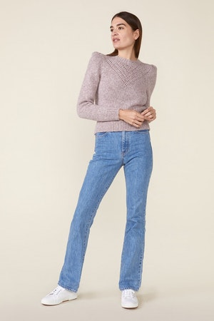 SISSY SWEATER, HEATHER ROSE by St. Roche - 4