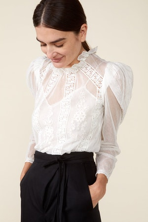 TOMI TOP - IVORY by St. Roche - 1