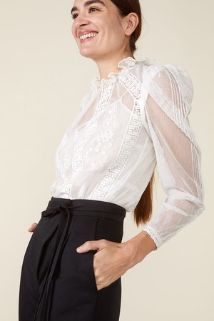 TOMI TOP - IVORY by St. Roche - 3