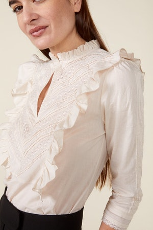 LINDE BLOUSE, BIRCH by St. Roche - 5