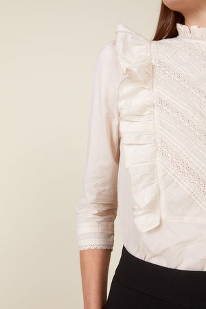 LINDE BLOUSE, BIRCH by St. Roche - 4