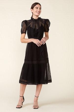 TOMI DRESS - BLACK by St. Roche - 1