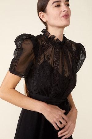 TOMI DRESS - BLACK by St. Roche - 4