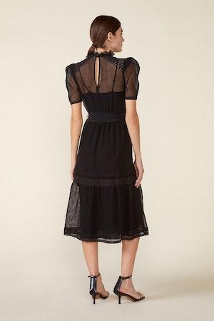 TOMI DRESS - BLACK by St. Roche - 2