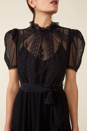 TOMI DRESS - BLACK by St. Roche - 6