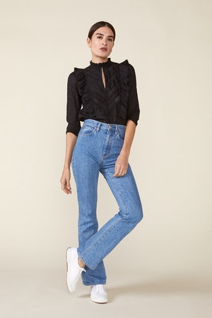 LINDE BLOUSE, BLACK by St. Roche - 5