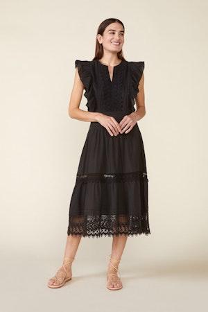 LUX DRESS, BLACK by St. Roche - 5