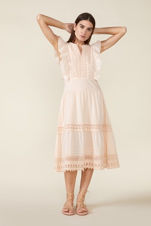 LUX DRESS, ROSEWATER by St. Roche - 2